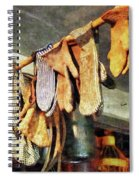 Mittens In General Store Spiral Notebook