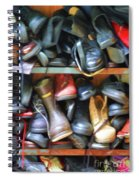 Mix Of Shoes Nyc Spiral Notebook