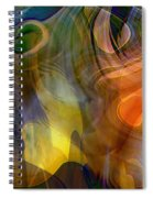 Mixed Emotions Spiral Notebook