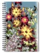 Mixed Floral Spiral Notebook