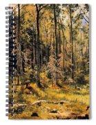 Mixed Forest Spiral Notebook