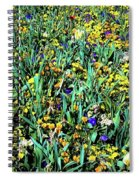 Mixed Wildflowers In Texas Spiral Notebook