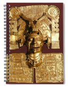 Mixtec: God Of The Dead Spiral Notebook