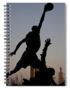 MJ Spiral Notebook
