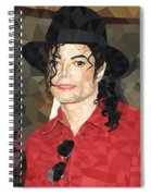 Mj Low Poly Spiral Notebook