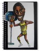 Mj Caricature Spiral Notebook