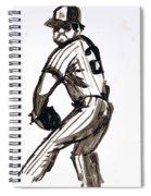 Mlb The Pitcher Spiral Notebook