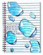 Mlk Love Note Spiral Notebook
