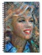 Mm Ice Blue Spiral Notebook