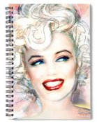 Mmother Of Pearl P Spiral Notebook