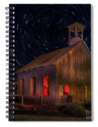 Moab Schoolhouse Star Trails Spiral Notebook