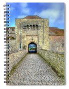 Moat House Leeds Castle Spiral Notebook
