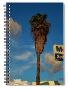 Mobil Self Serve Spiral Notebook