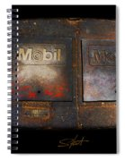Mobil Two Spiral Notebook