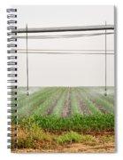 Mobile Irrigation Robot  Spiral Notebook