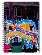 Mobile Mardi Gras Spiral Notebook