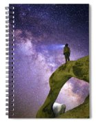 Mobius Milky Way Spiral Notebook