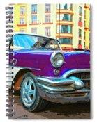 Moby Grape Spiral Notebook