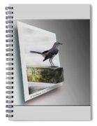 Mockingbird - Use Red-cyan 3d Glasses Spiral Notebook