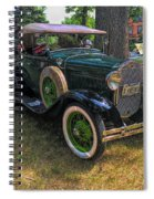 1928 Model A Ford  Spiral Notebook