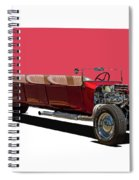 Model A Ford Limousine Spiral Notebook