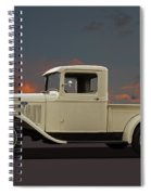 Model A Ford Truck Spiral Notebook