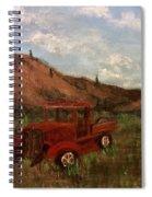 Model A Ghost Town Truck  Spiral Notebook