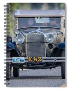 Model A Touring Club Spiral Notebook