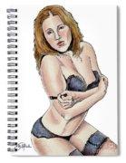 Model - Michelle Spiral Notebook