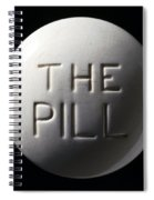 Model Of Contraceptive Pill, C.1970 Spiral Notebook