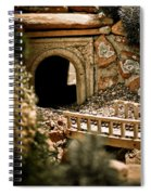 Model Train Tunnel 2 Spiral Notebook