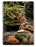 Model Train Tunnel Spiral Notebook