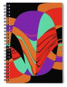 Modern Art 2 Spiral Notebook