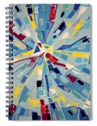 Modern Art One Spiral Notebook