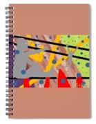 Modern Art Viii Spiral Notebook