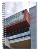 Modern Building Architecture Angles Spiral Notebook