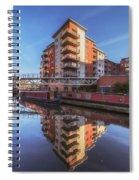Modern Canal Living Spiral Notebook