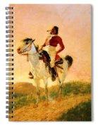 Modern Comanche 1890 Spiral Notebook