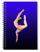 Modern Dancer  Spiral Notebook