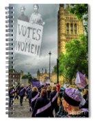 Modern Day Suffrage Spiral Notebook
