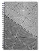 Modern Detail Background Spiral Notebook