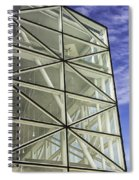 Modern Detail Bright Spiral Notebook