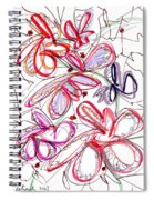 Modern Drawing Fifty-eight Spiral Notebook
