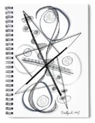 Modern Drawing Forty-eight Spiral Notebook