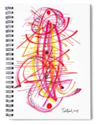 Modern Drawing Forty-five Spiral Notebook
