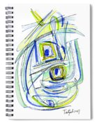Modern Drawing Forty Spiral Notebook