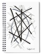 Modern Drawing Forty-six Spiral Notebook