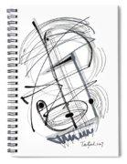 Modern Drawing Thirty-eight Spiral Notebook