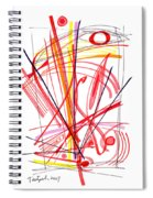Modern Drawing Thirty-nine Spiral Notebook