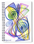 Modern Drawing Thirty-seven Spiral Notebook